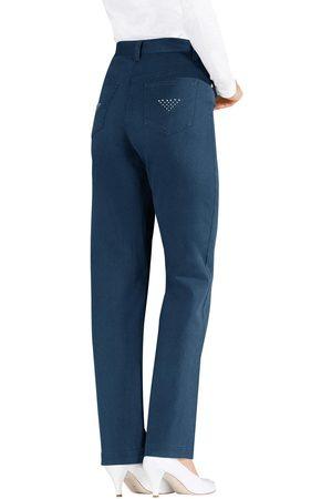LADY Jeans met glinstersteentjes