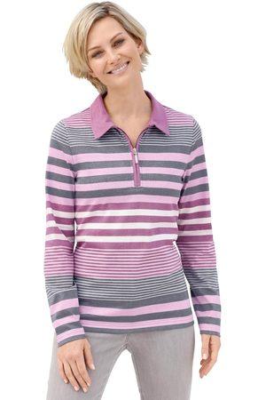 Casual Looks Poloshirt met mooi gestreept motief