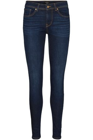 VERO MODA Vmlux Regular Waist Slim Fit Jeans Dames