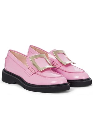 Roger Vivier Exclusive to Mytheresa – Viv' Rangers patent leather loafers