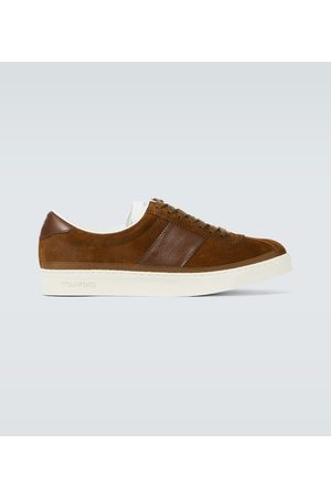 Tom Ford Bannister leather sneakers