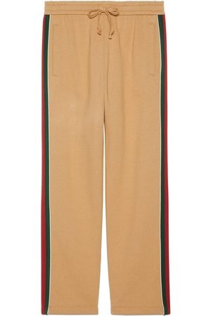 Gucci Cotton trousers with Web