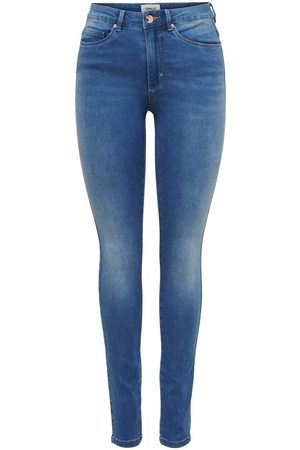 ONLY Onlroyal Life Hw Skinny Fit Jeans Dames Blauw