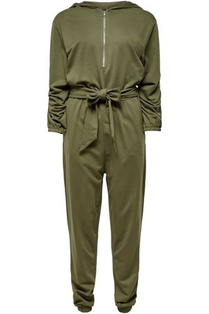 ONLY Dames Jumpsuits - Detailed Jumpsuit Dames Green