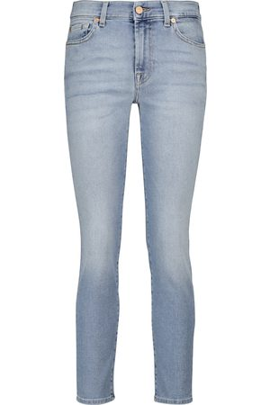 7 for all Mankind Dames Skinny - Roxanne mid-rise skinny jeans