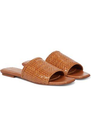 Souliers Martinez Dames Sandalen - Primavera woven leather sandals