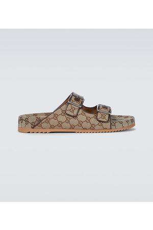 Gucci Heren Sandalen - GG Supreme canvas sandals