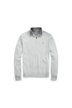 Polo Ralph Lauren Luxury Jersey Quarter-Zip Pullover