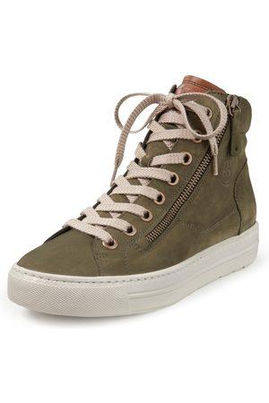 Paul Green Dames Sneakers - Enkelhoge sneakers kalfsleer Van