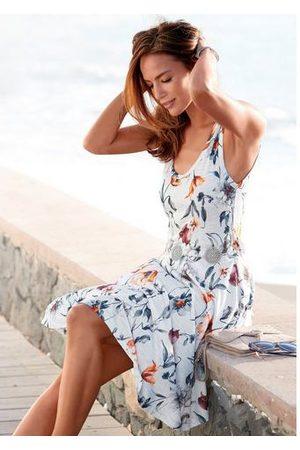 vivance collection Dames Jerseyjurken - Jerseyjurk met bloemenprint
