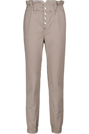 VERONICA BEARD Tedi high-rise slim stretch-cotton pants