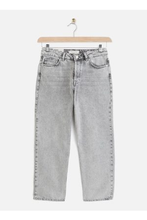 SELECTED SLFKATE HW STRAIGHT BLAST GREY JEANS W by