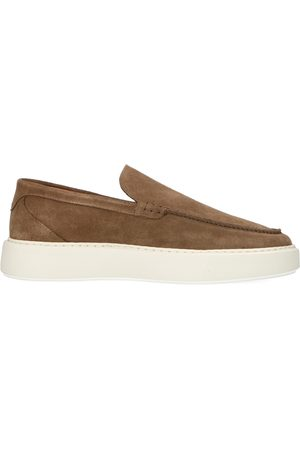 Sacha Heren Loafers - Camel loafers met witte zool