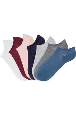 ARIZONA Sneakersokken (set van 7 paar) in verschillende kleuren