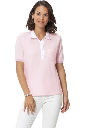 Casual Looks Poloshirt in zomerse piquékwaliteit