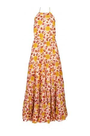 sundress Maxi jurk met print Neptune