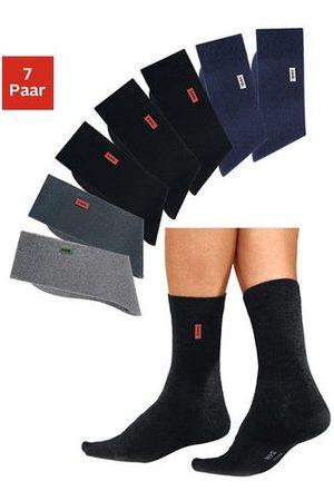 H.I.S Basic sokken (set van 7 paar) met extra hoog katoenaandeel