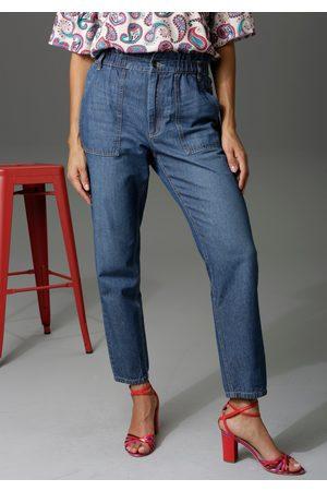Aniston Dames Baggy & Boyfriend - Loose fit jeans