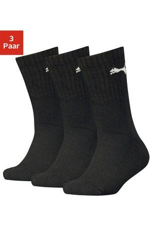 PUMA Sportsokken (set van 3 paar) met korte geribde schacht