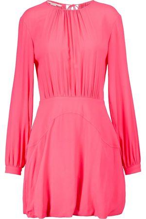 Stella McCartney Amanda gathered minidress