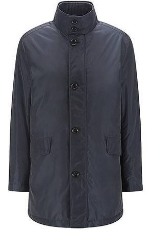 HUGO BOSS Heren Mantels - Water-repellent coat in a relaxed fit