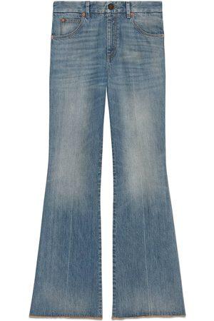 Gucci Eco washed organic denim trousers