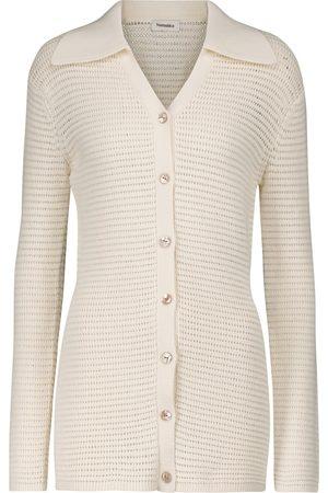 Nanushka Evelyn cotton-blend cardigan