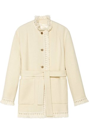 Gucci Belted wool bouclé jacket