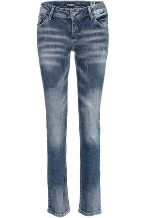 Cipo & Baxx Dames Straight - Jeans 'WD364
