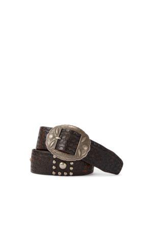 RRL Studded Leather Belt