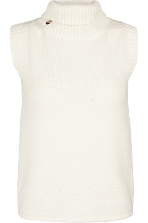 Helmut Lang Cotton and wool sweater vest