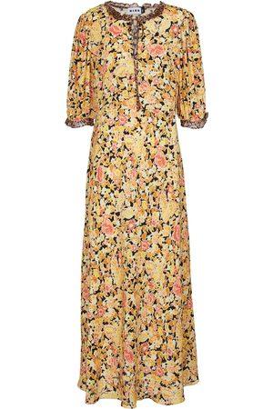 RIXO London Hanna printed maxi dress