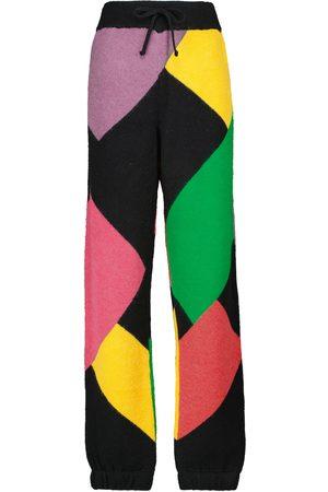 Palm Angels X Missoni colorblocked sweatpants