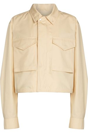 Jil Sander Cropped military-inspired jacket