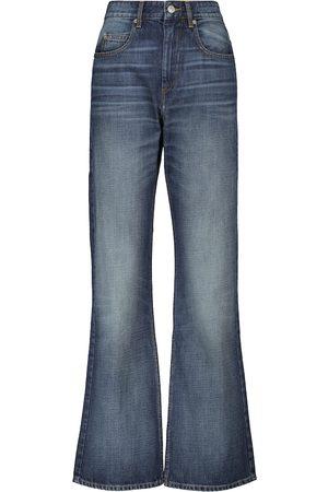 Isabel Marant Belvira high-rise bootcut jeans