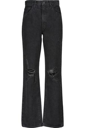 SLVRLAKE London high-rise wide-leg jeans