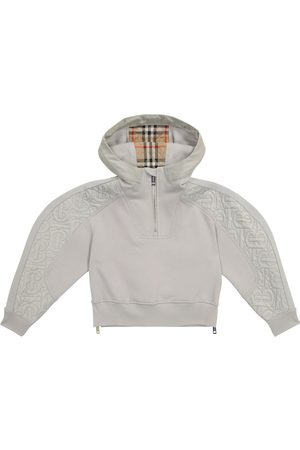 Burberry Quilted cotton hoodie