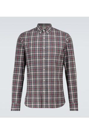 Brunello Cucinelli Checked flannel shirt
