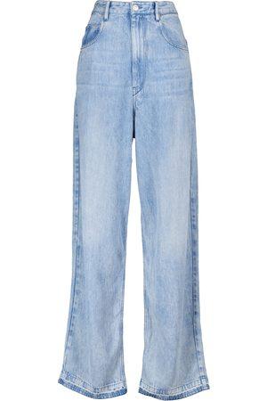 Isabel Marant Tilorsy high-rise wide-leg jeans