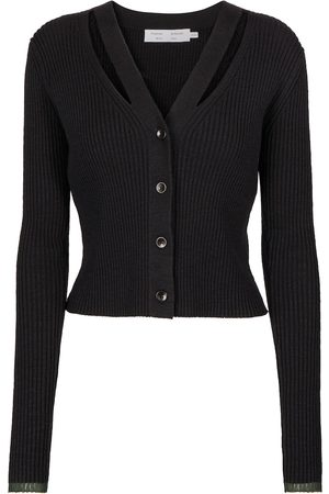 Proenza Schouler White Label ribbed-knit cardigan