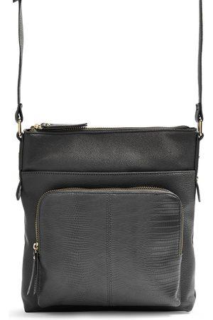 Primark Black pocket messenger crossbody bag