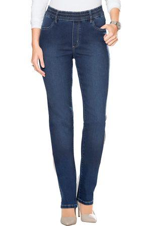 Classic Basics Jeans met elastische band rondom