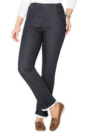 Classic Basics Thermo-jeans - aan de buitenkant denim, binnenin fleece