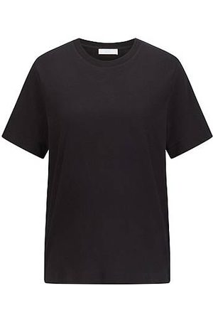 HUGO BOSS Dames Shirts - Relaxed-fit T-shirt in organic-cotton jersey