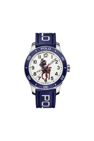 Polo Ralph Lauren Polo Watch Blue Bezel White Dial