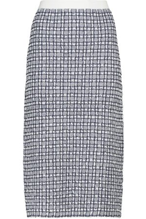 Victoria Victoria Beckham Stretch-knit midi skirt