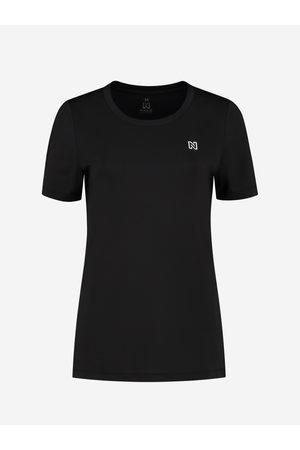 NIKKIE by Nikkie Plessen Dames Korte mouw - T-Shirt Met Logo 32 / Black