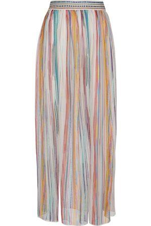 Missoni Dames Midi rokken - Striped knit maxi skirt
