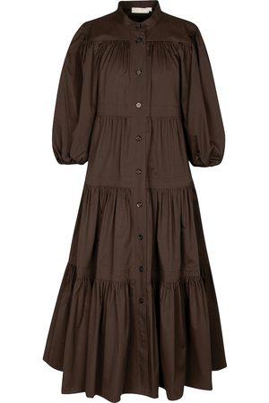 Tory Burch Cotton poplin midi dress