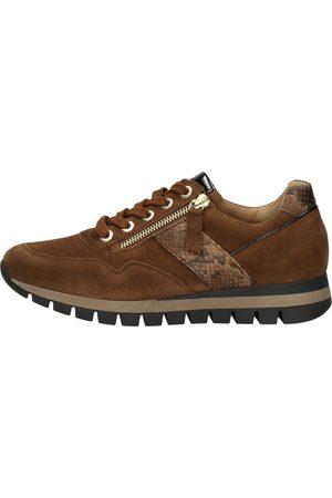 Gabor Sneakers Laag Middel Bruin